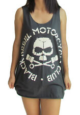 **Unisex Black Rebel Motorcycle Club Vest** Tank Top Singlet T-Shirt Sizes S-XL