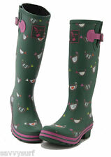 Ladies Wellies Winter Boots Rain Boots Designer Rubber Wellingtons Evercreatures
