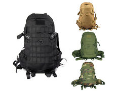 Tactical Military Hiking Camping Hunting Molle 1000D Combat Assault Bag Backpack