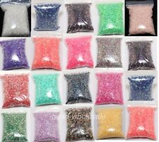 12g(About 2000pcs) Acrylic Flatback ABcolor Bead For Nail Art Phone Craft 3mm