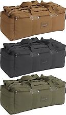 Israeli Military Mossad Tactical Duffle Bag Double Strap Backpack