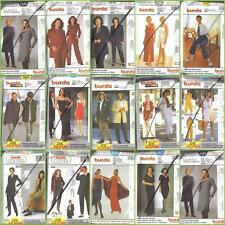 OOP Burda Sewing Pattern Misses / Women w Plus Size Full Figure Your Choice