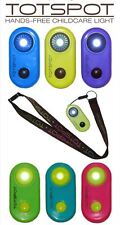 Goo-Goo Baby Totspot Hands-Free Clip-on LED Childcare Light, Lanyard Available