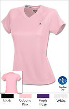 Champion S - 2XL Women's Double Dry Training V-Neck Tee Wicking CW23