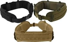 Battle Belt MOLLE Pistol Belt Padded Tactical Duty Belt for Law Enforcement