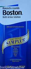 NEW 120 ml Bausch & Lomb Boston Simplus Multi-Action Contact Lens Solution