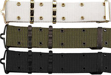 Military Nylon Pistol Belt with Metal Buckle