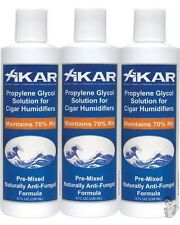 XiKAR 814Xi PG Solution 8 oz. Humidor Solution Bottle Use Every Time Formula 3PK