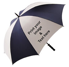 Golf UMBRELLA Personalised Dog Walking/Business-ANY-LOGO/IMAGE/TEXT/COLOUR