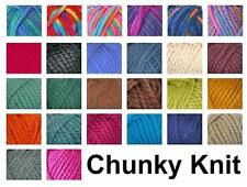 100g Seriously Chunky Thick Acrylic Knitting Wool Cygnet Yarns - All Colours
