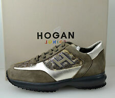 HOGAN JUNIOR MOD. NEW INTERACTIVE N. 29-30-34 MARRONE ART. HXC00N0258270Z3A11