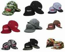 New Youth Adult Supreme Snapback Hats 5 Panel Cap Adjustable Baseball Hip-Hop