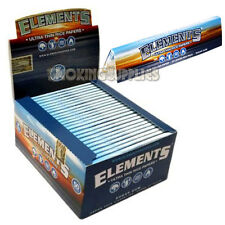 Elements Kingsize Slim Rice Rolling Papers Chemical Free Multi Quantity Listing