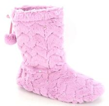 Spot On Sequined Slipper Bootee