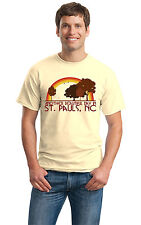 ANOTHER BEAUTIFUL DAY IN ST PAULS, NC Retro Adult Unisex T-shirt. North Carolin