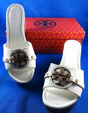 Tory Burch Patti 3 Bleach Leather Wedges Shoes 5 to 11