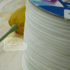 "3mm 1/8"" White Velvet Ribbons Craft Sewing Trimming Scrapbooking #1"