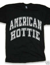 AMERICAN HOTTIE usa united states america hot sexy diva queen clothing t-shirt