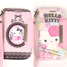 Genuine Hello Kitty Wallet iPhone 5 case Galaxy S3 case  Galaxy Note 2 iPhone 4