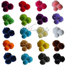 "8""/10""/15"" Tissue Paper Ball Pom Poms Wedding Birthday Party Shower Home Decor"