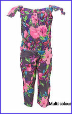 SALE Girls ex monsoon playsuit jumpsuit outfit age 3 4 5 6 7 8 years next hols