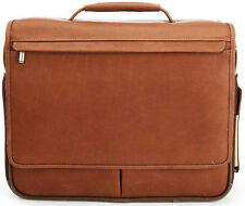 New KORCHMAR Sebastian F3191 Hybrid Messenger Leather Briefcase $425