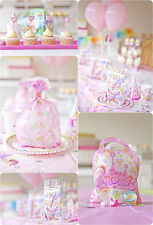 Princess Party tableware cups napkins filled party bag plates tablecover bunting