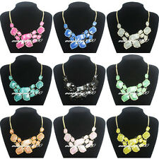 New Women Irregular Bubble Necklace Bib Statement Fashion Chain Many Colors Pick