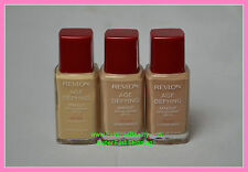 Revlon Age Defying Makeup with Botafirm 1.25  SFP 15 many colors to choose from