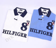 Tommy Hilfiger Men Pique Mesh Polo Shirt Short Sleeve - Free $0 Shipping