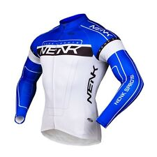 Sobike- COOREE Blue Cycling Long Jersey long Sleeves