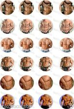 24x PRECUT HEN PARTY/ ANN SUMMERS/ SEXY MAN RICE/WAFER PAPER CUP CAKE TOPPERS
