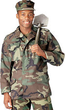 Woodland Camouflage Military M-65 Field Coat Army M65 Jacket