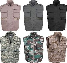 Military Tactical Ranger Vest With Hood