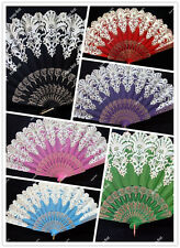 New Spanish Style Brocade Lace Design Party Wedding Folding Fan