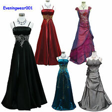 Cherlone Satin Sparkle Lace Ball Bridesmaid Formal Wedding/Evening Gown Dress