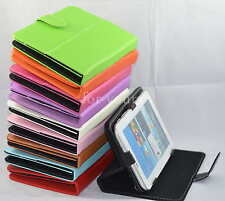 """Colorful Magic Leather Case+Stylus For 8""""Aluratek CinePad AT208F/zte v80 Tablet"""