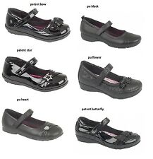 GIRLS INFANTS ADULT VELCRO CASUAL SCHOOL FORMAL SHOES VARIOUS STYLES FAB622