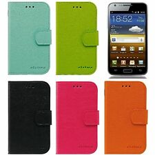 SIRIUS Leather Wallet Cover Case for Samsung Galaxy S2 LTE Skyrocket i727 E110