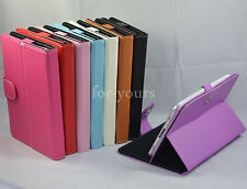 """Colorful Magic Leather Case+Stylus For 10.1"""" Aluratek CinePad AT110F/zte v96a"""