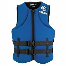 Yamaha Value Neoprene 2-Buckle PFD Life Vest Blue