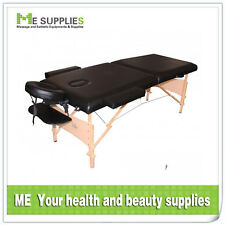 FOLDABLE Wooden LEGS 2 SECTIONS Portable Massage Table