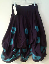 Luna Luz Cheerio Tie Dyed Short Skirt Interior Ties Style 97TQ TWO Colors NEW!