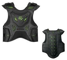 Icon Stryker Stunt Riding Chest & Spine Protection Vest Black/Green