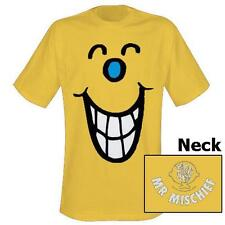 Mr Men & Little Miss - Mr Mischief Mens T-Shirt - New & Official In Sealed Pack