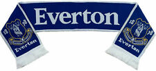 Everton FC Official Licensed Jacquard Scarf BNIP Football EPL