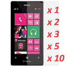 Crystal Clear LCD Screen Protector Film Cover 4 Nokia Lumia 521 - tmobile [lot]