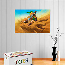 THE LEGEND OF ZELDA A LINK TO THE PAST WALL ART POSTER