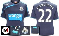*13 / 14 - PUMA ; NEWCASTLE UTD AWAY SHIRT SS + PATCHES / MARVEAUX 22 = KIDS*