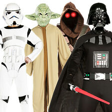 Star Wars Movie Character Mens Costume Adult Halloween Fancy Dress Outfit + Mask